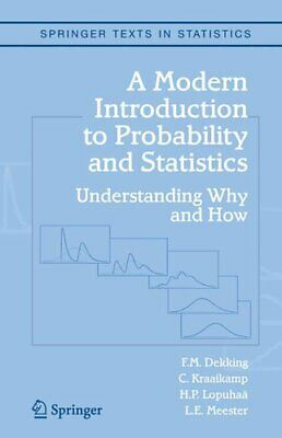 A Modern Introduction to Probability and Statistics Understandi... 9781849969529