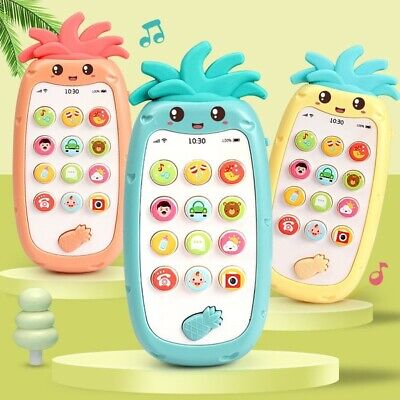 Baby Toys Music Cartoon Phone Mobile Educational Developmental Kids Gifts Toys