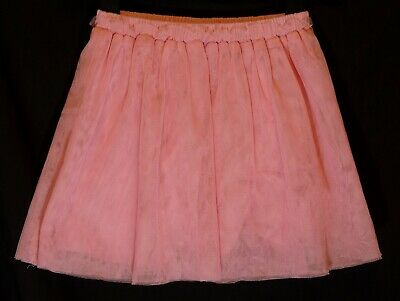 Girls Gap Pink Mesh Layer Fully Lined Elasticated Waist Party Skirt Age 5 Years