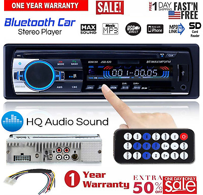 "7"" inch Double 2 DIN Car MP5 Player Bluetooth Touch Screen Stereo Radio USB AUX"