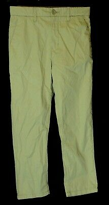 Boys H&M Beige Adjustable Smart Casual Chino Cotton Trousers Age 8-9 Years