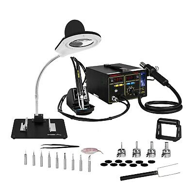 Professional Soldering Station With Smoke Ventilation Digital LED Display 720W