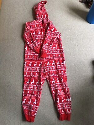 Marks and Spencer Girls Christmas All in one suit 9-10