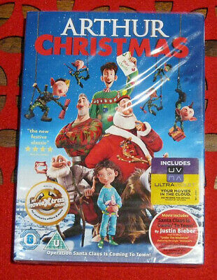 Arthur Christmas DVD video – NEW SEALED – Sony DVD with special features
