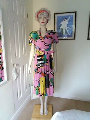 VINTAGE  Jacques vert Dress 14
