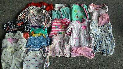 Large bundle of baby girl clothes, age 0-3 months, Next, Mini Club, George, JoJo