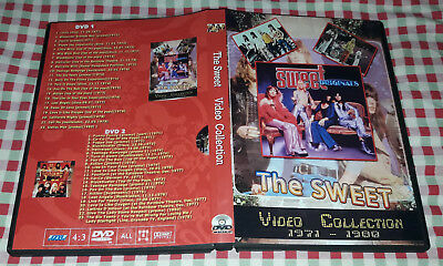 The Sweet - Video Collection 1971-1980 (2 DVDs) SPECIAL FAN EDITION