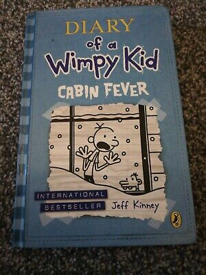 Diary of a Wimpy Kid - Cabin Fever by Jeff Kinney (Hardback, 2011)
