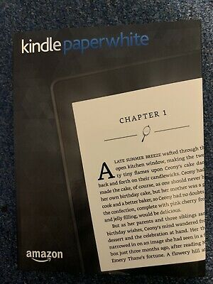 Amazon Kindle Paperwhite 7th Generation, 4GB, Black, E-Reader With Case