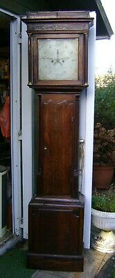Antique Grandfather Clock for Restoration - 8 Day.