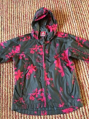 Girls Rain Coat By Tog 24 Age 7-8 Hardly Worn