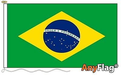 Brazil Anyflag Made To Order Various Flag Sizes With Eyelets
