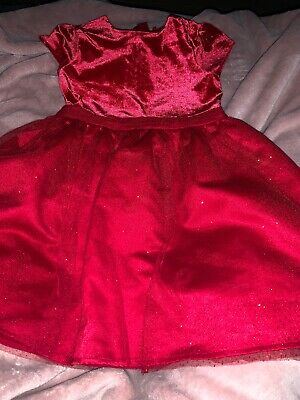 Stunning Girls Next Christmas  Party Dress Age 6-7 Years