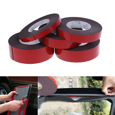 1 Roll 10m super strong self-adhesive car trim body double sided foam tape Bj