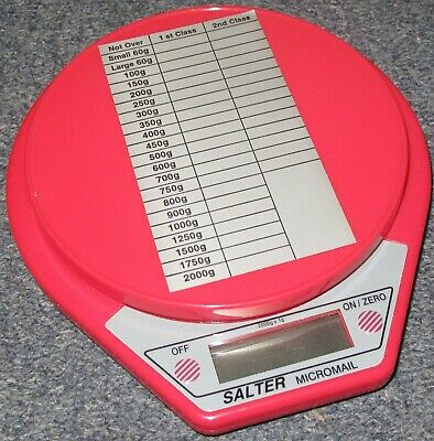 Salter Micromail 2Kg Electronic Postal Scale, New 1g Precision