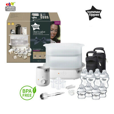 NEW Tommee Tippee Closer to Nature Complete Feeding Set White (Brand New)