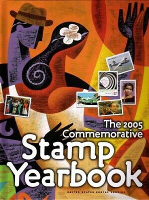 2005 USPS Commemorative Stamp Yearbook with Stamps MNH