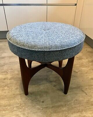 G Plan Fresco Teak Vintage Retro Mid Century Foot Stool Side Table - Refurbished