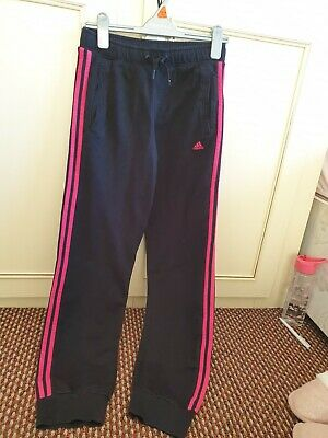 Girls Adidas Originals Age 13-14 Years Tracksuit Bottoms Joggers Trousers Sports