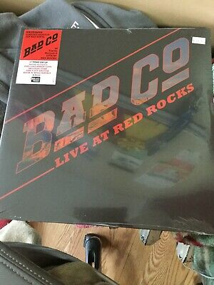 Bad Company Live At Red Rocks Limited Red Vinyl Record Store Day Black Friday Lp