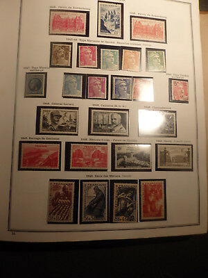 LOT TIMBRES FRANCAIS ..1948/49  25 TIMBRES NEUFS sans charniere ,belle gomme