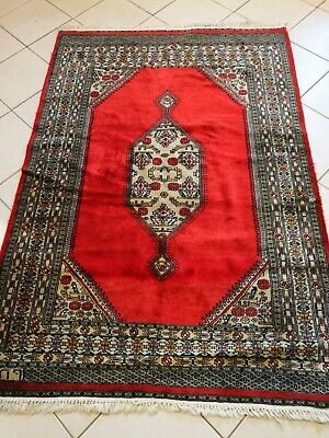 HAND knotted Oriental WOOL Rug carpet