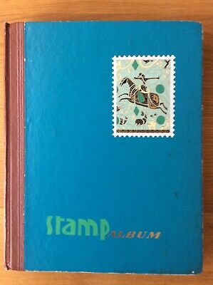 Stamp Album Stock Book - Worldwide Collection. Over 1000 Used Stamps