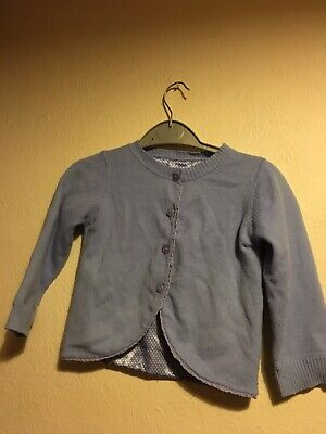 M&S Toddler Girls Cardigan With Cashmere Age 3-4 Fully Lined
