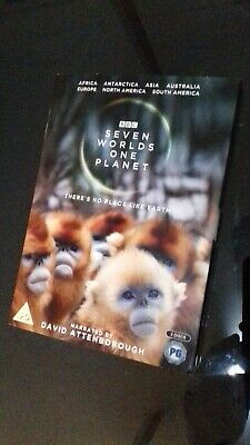 BBC Seven Worlds One Planet - DVD - *New but NOT Sealed* 2019