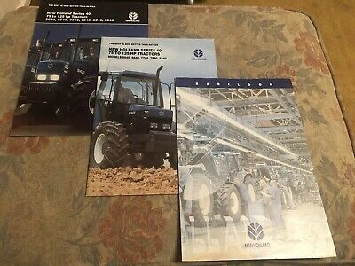 Ford New Holland 40 Series And Basildon Factory Brochure Leaflets TS TM Tractor