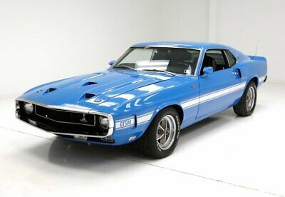 1969 Ford Shelby GT500  Matching Numbers Fully Restored Grabber Blue 428ci CJ 4-Speed