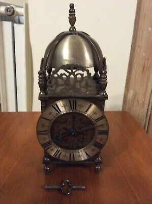 French Lantern Clock Timepiece,
