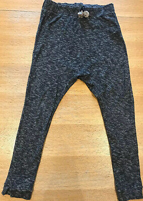 Girls Zara Casual Low Crouch Trousers Age 11/12