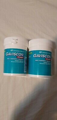 Gaviscon Advance Chewable Heartburn Relief Indigestion Tablets 120 - Multipack