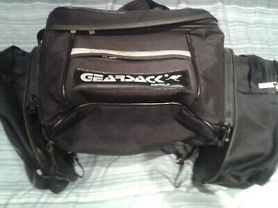Gearsack Australia Throwover Pannier Set In Very Good Condition