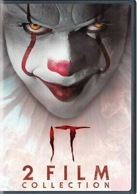 It: Chapter One & Two (2019, DVD NIEUW)2 DISC SET