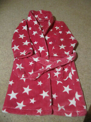 Next Girls Star Dressing Gown Age 5-6