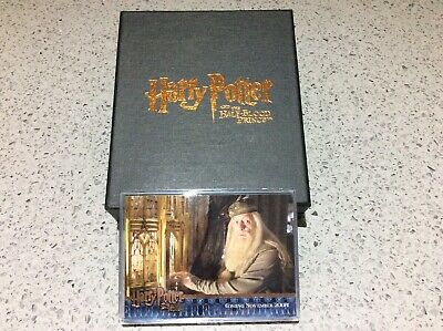 Harry Potter Half Blood Prince ARTBOX COMICON EXCLUSIVE PROMO TRADING CARDS SET
