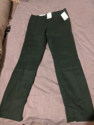 H&M Trousers NEW with tags Size 16 Super Stretch DARK GREEN
