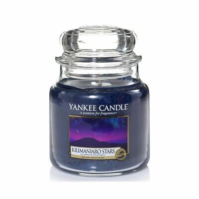 Yankee Candle Kilimanjaro Stars Medium Jar Retired HTF 1