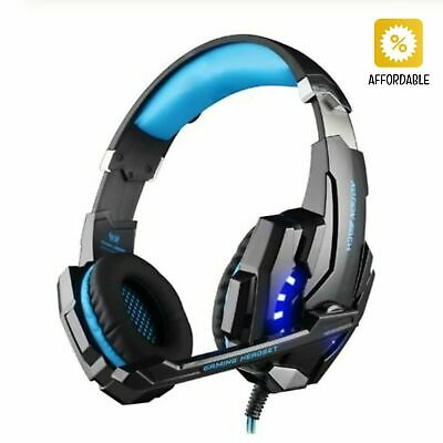 Headphones Gaming Headset Deep Bass Stereo Wired Gamer Earphone Microphone