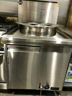 B+S Black Waterless HE Steamer Commercial cooking Equipment