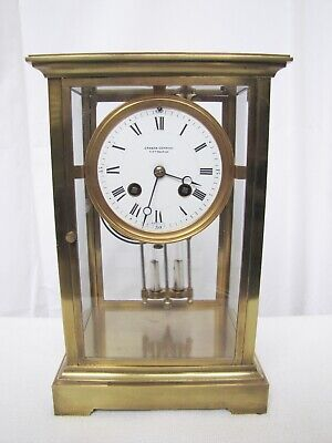 Antique Grogan Company, Pittsburgh Paris, Regulator French Mantle Clock