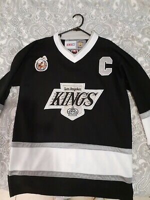 Wayne Gretzky Jersey Kings CCM Vintage Hockey Size 48 los angeles nhl