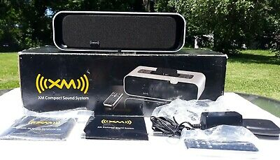 Audiovox XMAS100 XM Compact Sound System Remote-Antenna-Cord- Dock Adapters