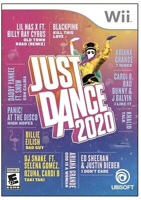 Just Dance 2020 (Nintendo Wii) Brand New Factory Sealed-FAST USPS FIRST CLASS