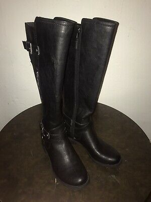 New G by GUESS Women/'s Cody Black Boot Size 7-8-8.5-9.5 M