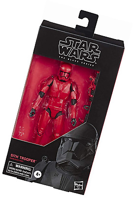 "Star Wars The Black Series Sith Trooper Toy 6"" Scale Rise of Skywalker Collectib"