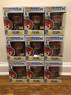 Funko Pop! Ad Icons Pez Girl #82 Limited Pez Visitor Center Red Hair Exclusive
