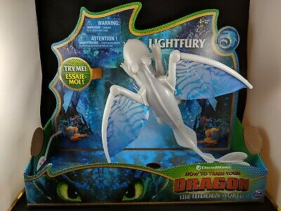 HOW TO TRAIN YOUR DRAGON The Hidden World LIGHT FURY Deluxe Lights & Sounds